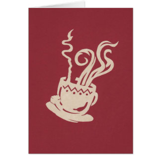 Tribal Java Stationery Note Card