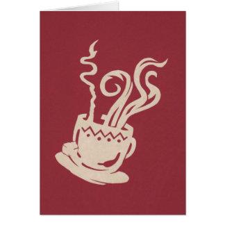 Tribal Java Greeting Card