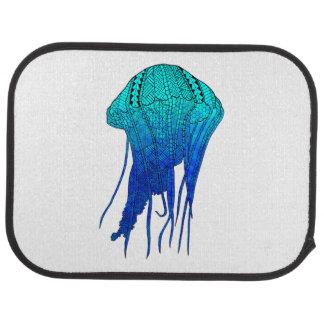 Tribal Jellyfish Car Floor Mat