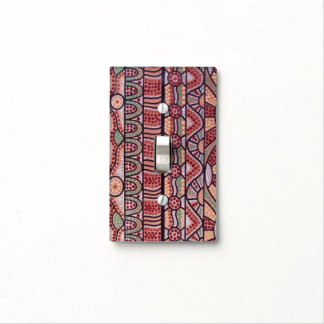 Tribal Journey Light Switch Cover