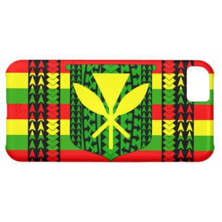 Tribal Kanaka Maoli Flag Cover For iPhone 5C