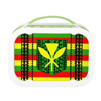 Tribal Kanaka Maoli Flag Lunch Box