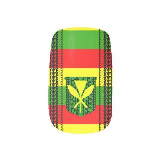 Tribal Kanaka Maoli Flag Minx Nail Wraps