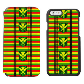 Tribal Kanakan Maoli iPhone 6/6s Wallet Case