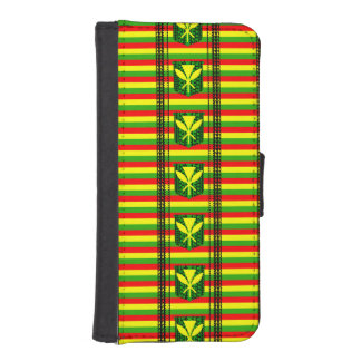 Tribal Kanakan Maoli iPhone SE/5/5s Wallet Case