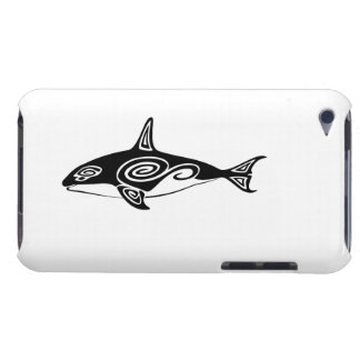 Tribal Killer Whale iPod Case-Mate Case