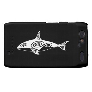 Tribal Killer Whale Droid RAZR Covers