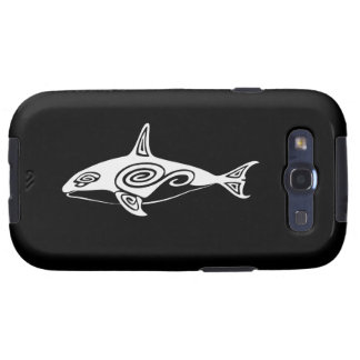 Tribal Killer Whale Samsung Galaxy S3 Covers