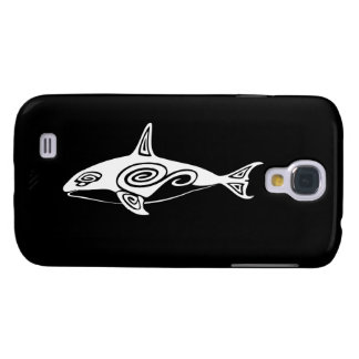 Tribal Killer Whale Samsung Galaxy S4 Cases
