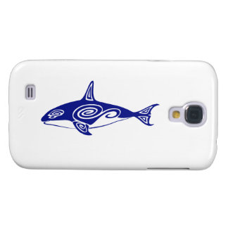 Tribal Killer Whale Galaxy S4 Case