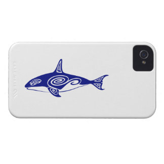 Tribal Killer Whale Case-Mate iPhone 4 Cases