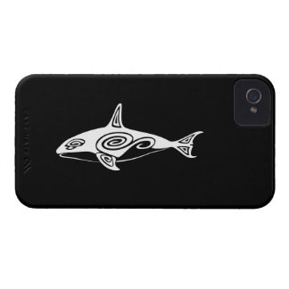 Tribal Killer Whale iPhone 4 Covers