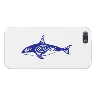 Tribal Killer Whale Cover For iPhone SE/5/5s