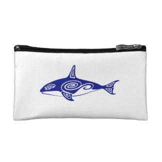Tribal Killer Whale Makeup Bag