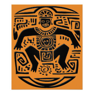 tribal king - poster
