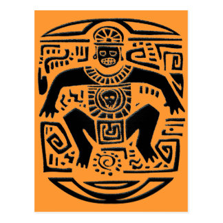 tribal king tarjeta postal