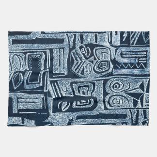 tribal kitchen towel