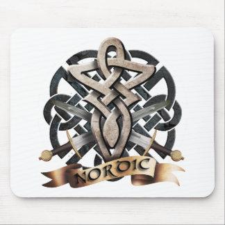 Tribal Knot viking B Mouse Pad