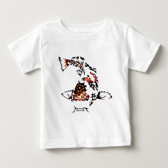 1ed157d55ffa Tribal Koi Fish Baby T-Shirt