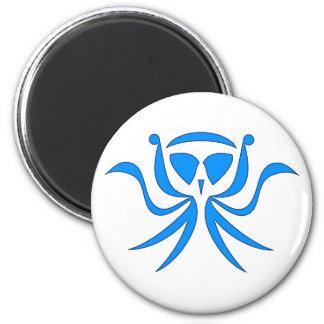 tribal Krake kraken 2 Inch Round Magnet