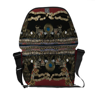 Tribal Kuchi Belly Dance Messenger Bag