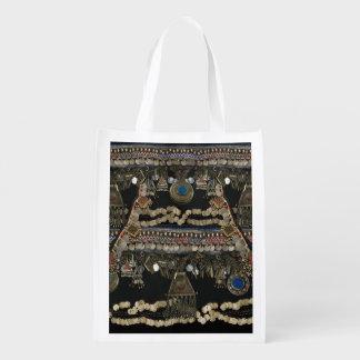 Tribal Kuchi Belly Dance Reusable Grocery Bag