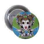 Tribal Lady Pinback Button
