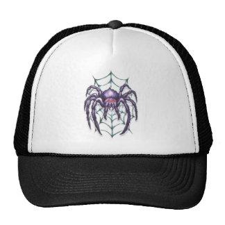Tribal large spider trucker hat