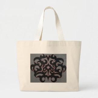 tribal large tote bag