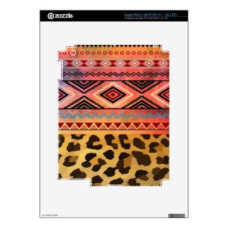 Tribal Leopard iPad 3 Skin