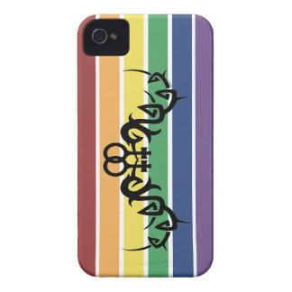 Tribal Lesbian Rainbow iPhone 4 Case