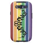 Tribal Lesbian Rainbow Samsung Galaxy S3 Case