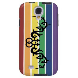 Tribal Lesbian Rainbow Samsung Galaxy S4 Case