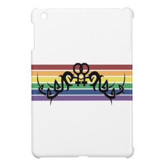 Tribal Lesbian Rainbow Symbols iPad Mini Case