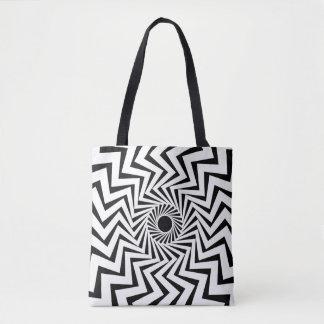 Tribal Lightning Bolt Tote Bag