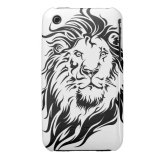 Tribal Lion iPhone 3 Cover