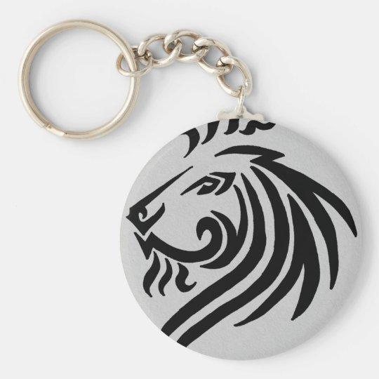 TRIBAL LION KEYCHAIN