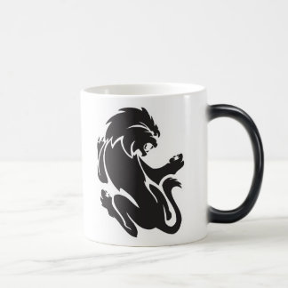 Tribal Lion Tattoo Design Coffee Mug