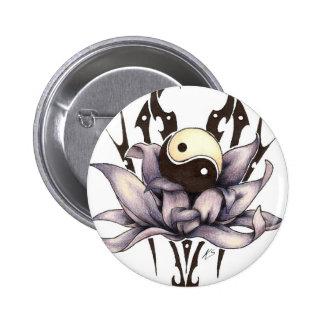 tribal lotus button