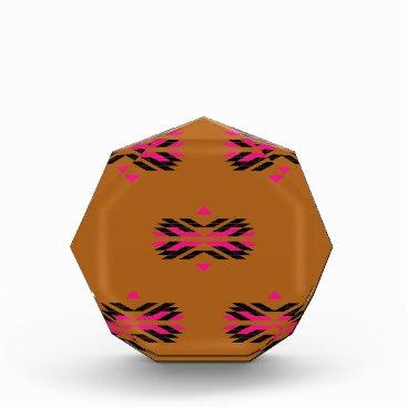Aztec Themed Tribal luxury pattern Brown / Aztecs Award