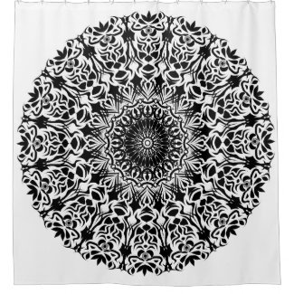 Tribal Mandala Black