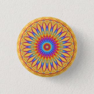 Tribal Mandala Motif Button