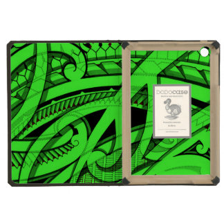 Tribal Maori tattoo designs with vivid colors iPad Mini Cases