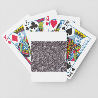 tribal mark.PNG Pen and Ink Drawing (Tribal Mark) Bicycle Playing Cards