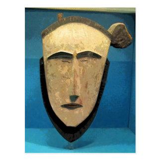 Tribal Mask CB Postcard