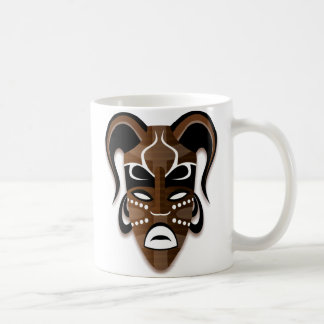 TRIBAL MASK White Mug