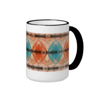 Tribal Merge Ringer Coffee Mug