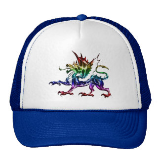 Tribal Metallic Dragon Hat