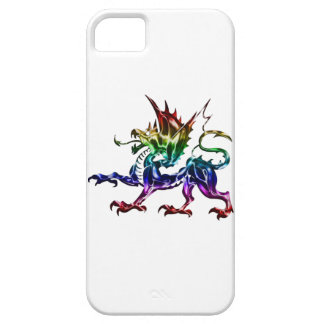 Tribal Metallic Dragon iPhone 5 Case