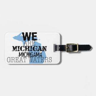Tribal Michigan Michigama Great Waters Up North Bag Tag